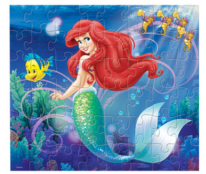 Disney Princess 3 puzzle in Bag