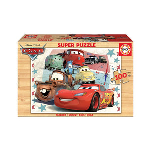Educa Cars Wooden Puzzle 100 Pieces