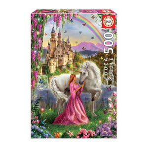 Educa Fairy And Unicorn 500pcs Puzzle