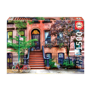 Educa Greenwich Village New York Adult Puzzle 1500 Pieces