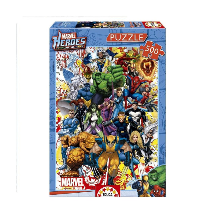 Educa Marvel Heroes Puzzle 500 Pieces