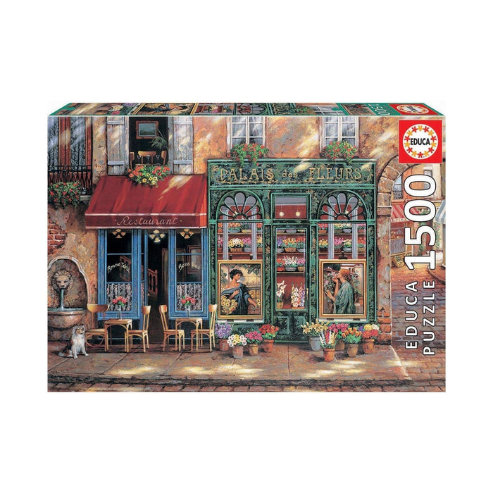 Educa Palace of Flowers Adult Puzzle 1500 Pieces