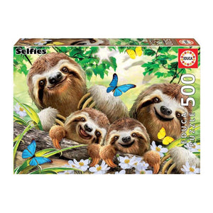 Educa Sloth Family Selfie 500pcs Puzzle