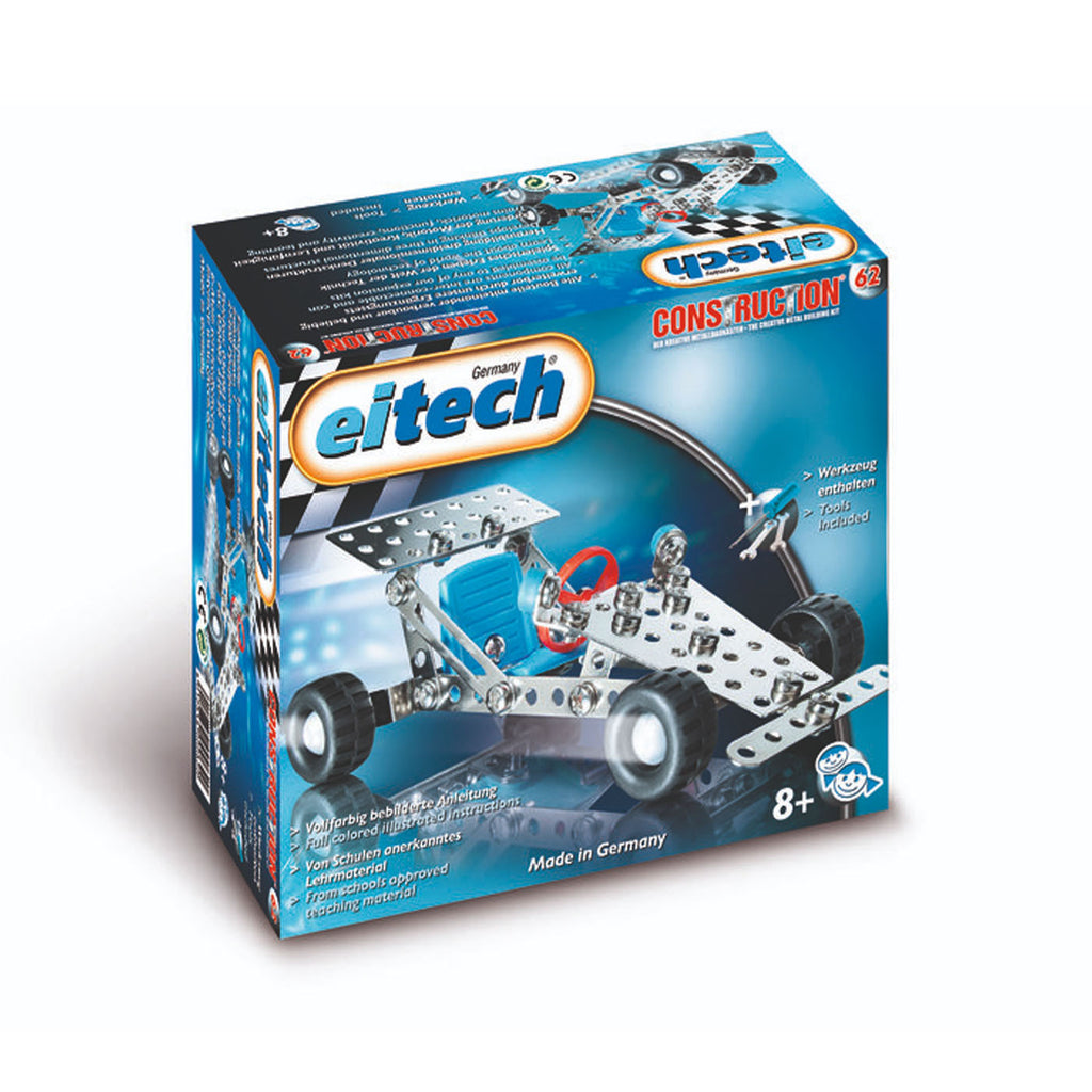 Eitech C62 Basic Mini Race Car Construction Set