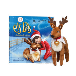 Elf Pets A Reindeer Tradition
