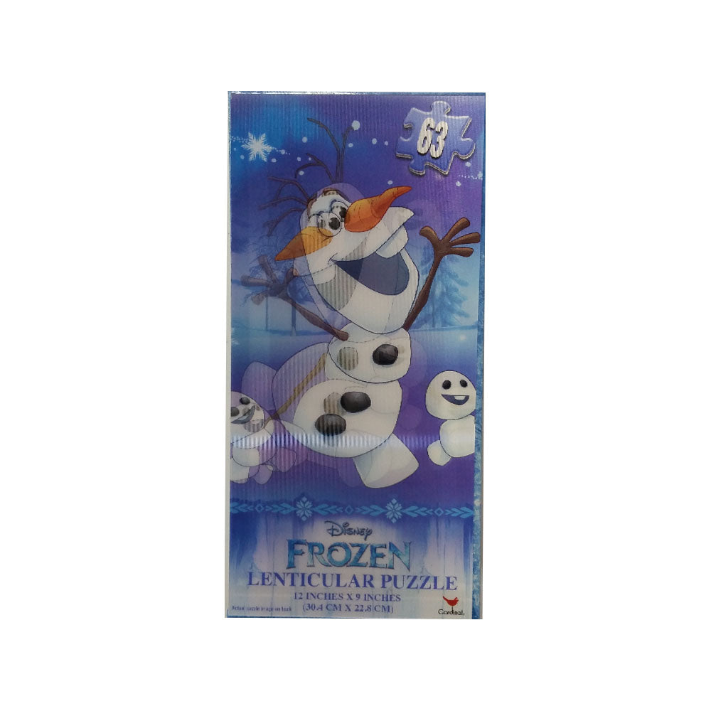 Frozen Lenticular Tower 63pc Puzzle