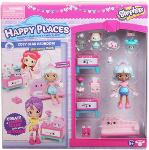 Happy Places Shopkins Rainbow Pack - Cozy Bear Bedroom
