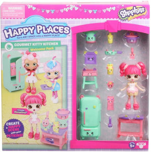 Happy Places Shopkins Rainbow Pack - Gourmet Kitty Kitchen