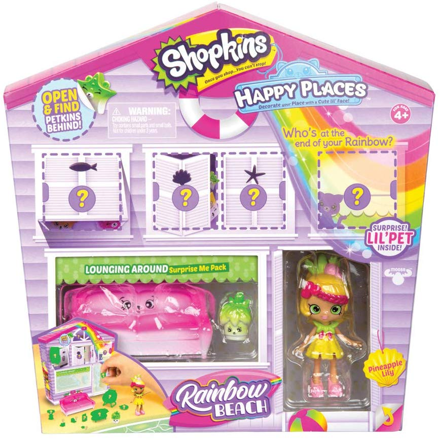 Happy Places Shopkins Rainbow Pack - Lounging Around