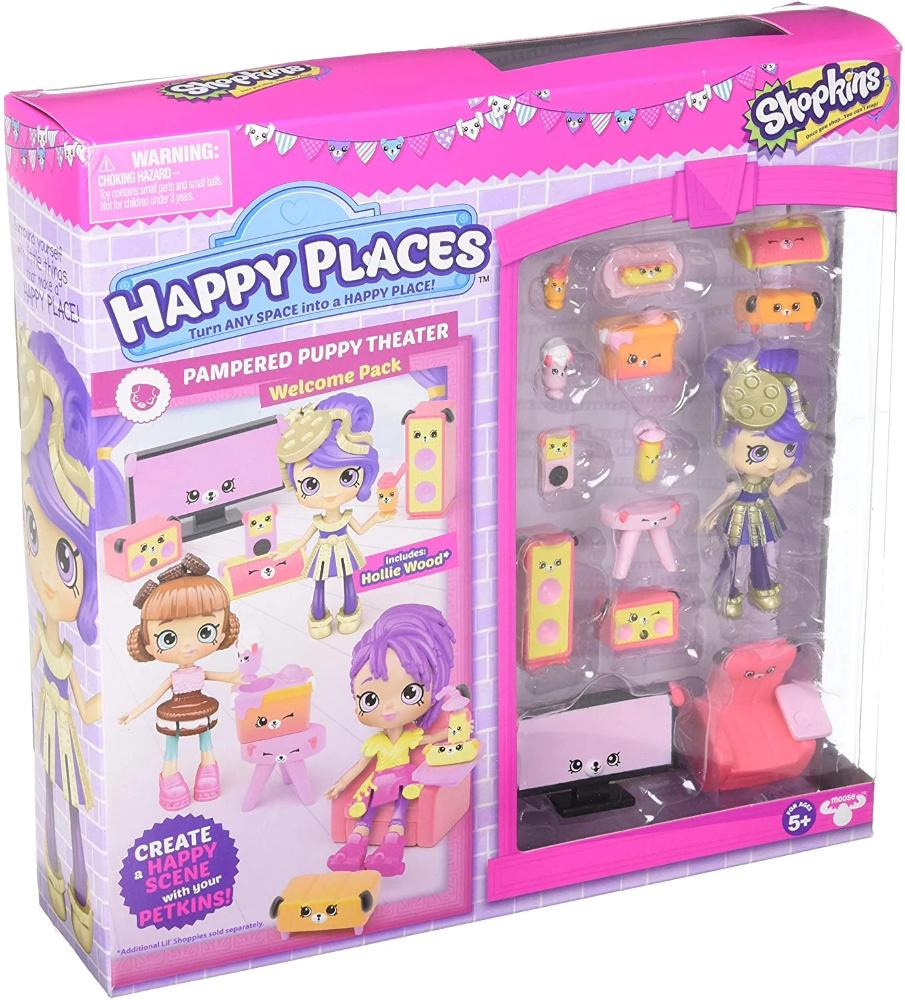 Happy Places Shopkins Rainbow Pack - Pampered Puppy Theater