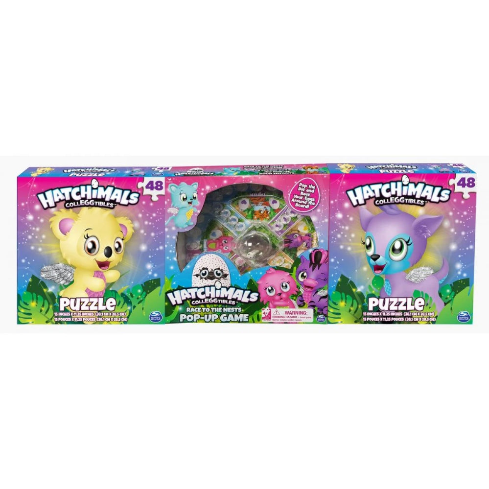 Hatchimals 3 Pack Game Bundle