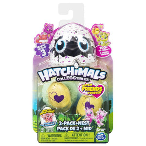 Hatchimals Colleggtibles 2 Pack with Nest