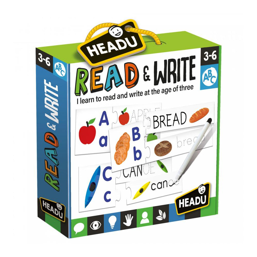 Headu Read & Write Puzzle