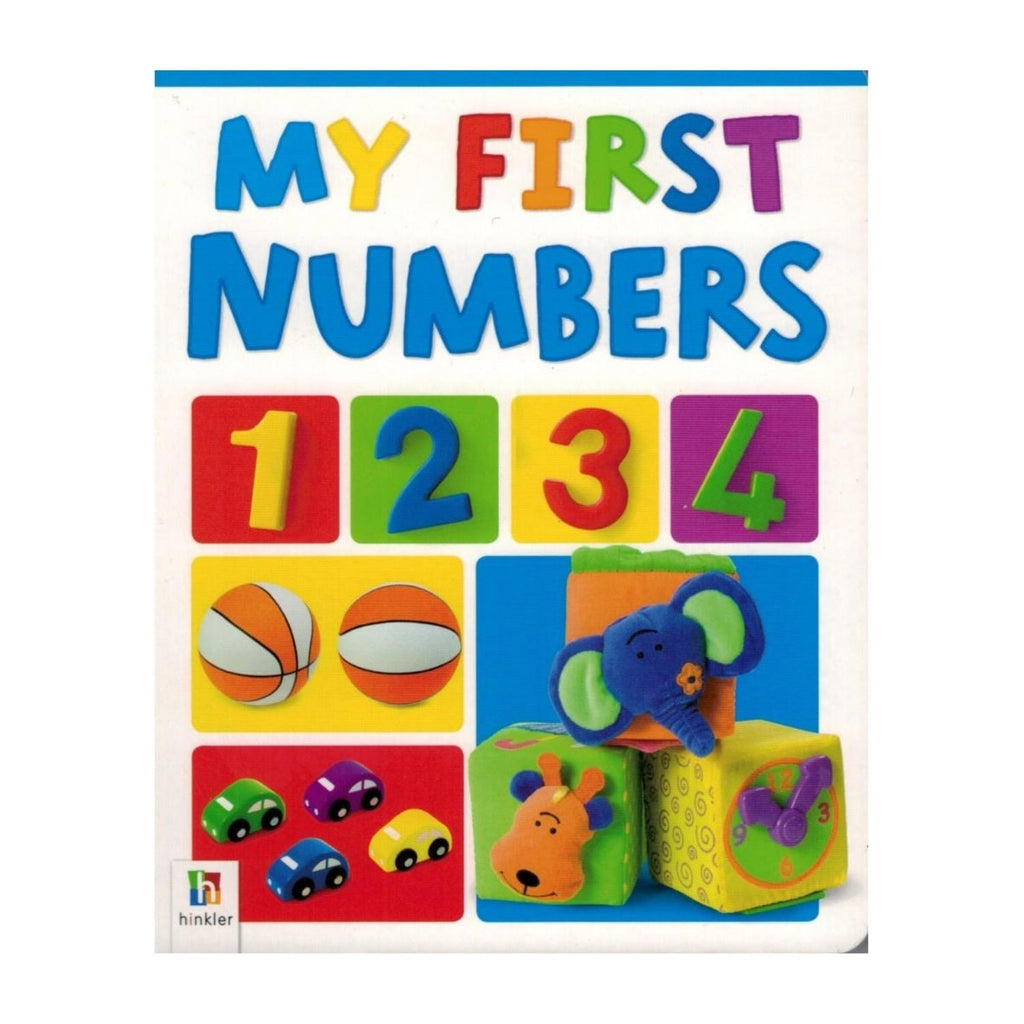 Hinkler Books - My First Board Book Numbers