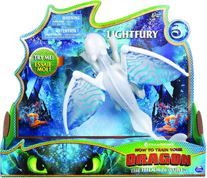 How To Train Your Dragon Deluxe Dragon Lightfury