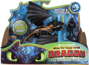 How To Train Your Dragon Dragon & Viking - Hiccup & Toothless