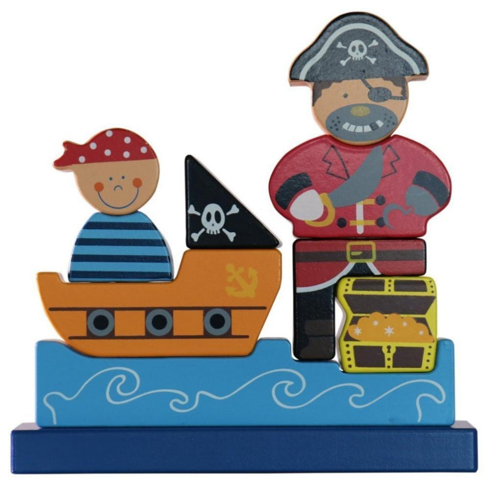 VIGA Magnetic Standing Puzzle Pirate