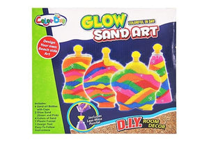 Room Decor Glow Sand Art with 4 Bottles