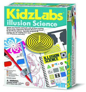 4M Kidzlabs Illusion Science Kit