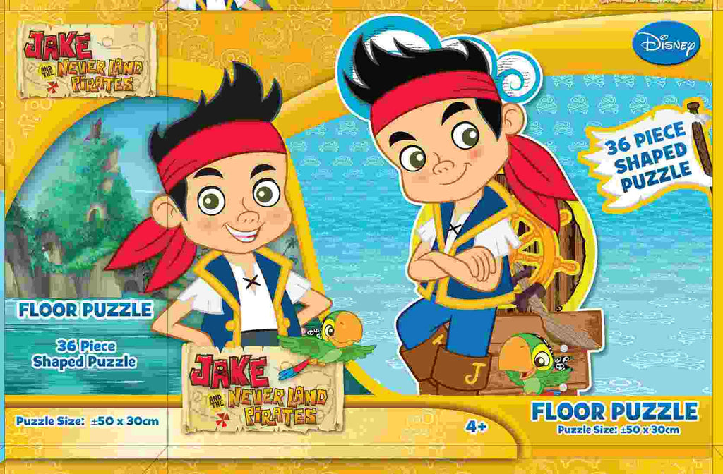 Jake and the Neverland Pirates 36 Piece Floor Puzzle