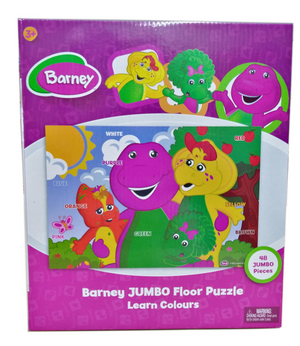 Barney Learning Colours