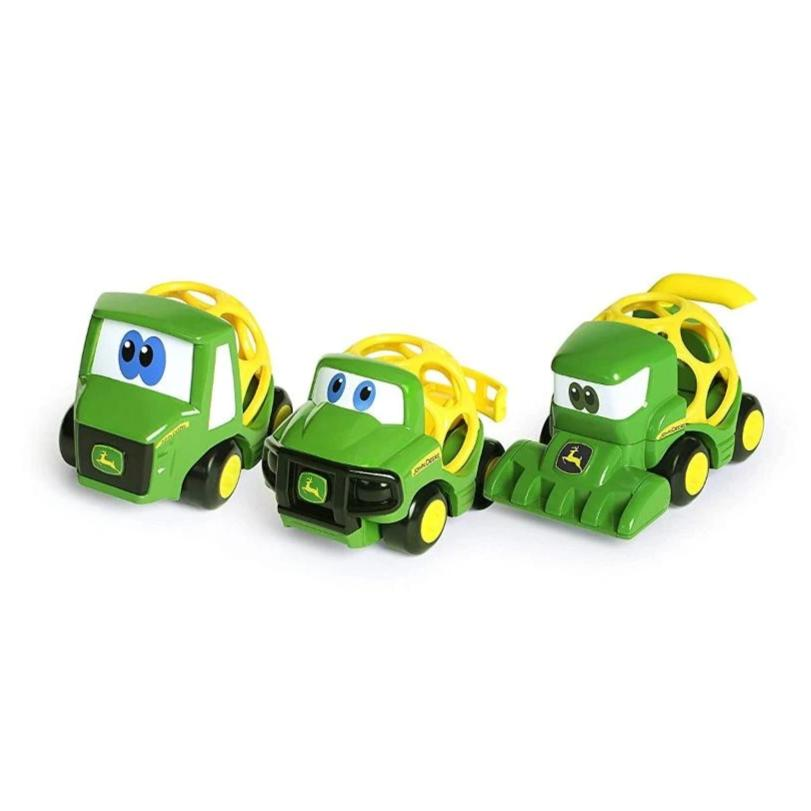 John Deere Go Grip Touch OL Trio Vehicle Set