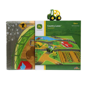 John Deere Go Gripper Country Lanes Playmat & Vehicle