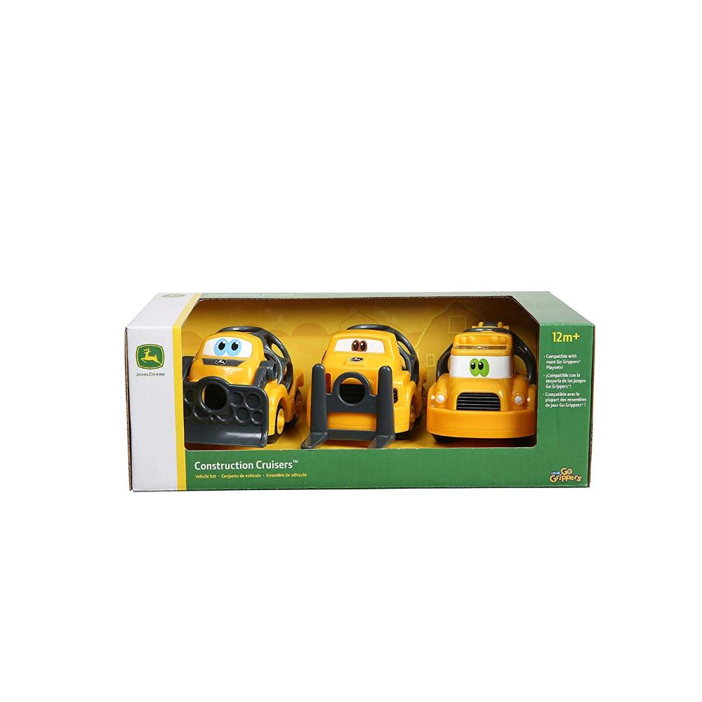 John Deere Go Grippers Construction Cruisers Vehicle Set