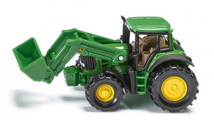Siku John Deere Tractor with Front Loader Scale 1:72