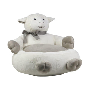 Plush Sheep Bean Bag Chair