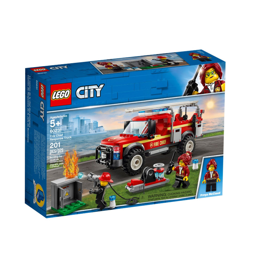 LEGO® City Town Fire Chief Response Truck 60231