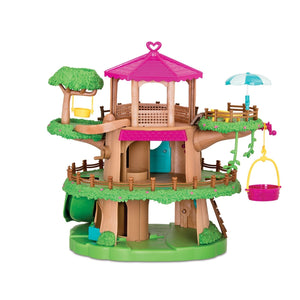 Li'L Woodzeez Family Treehouse with Crank Elevator