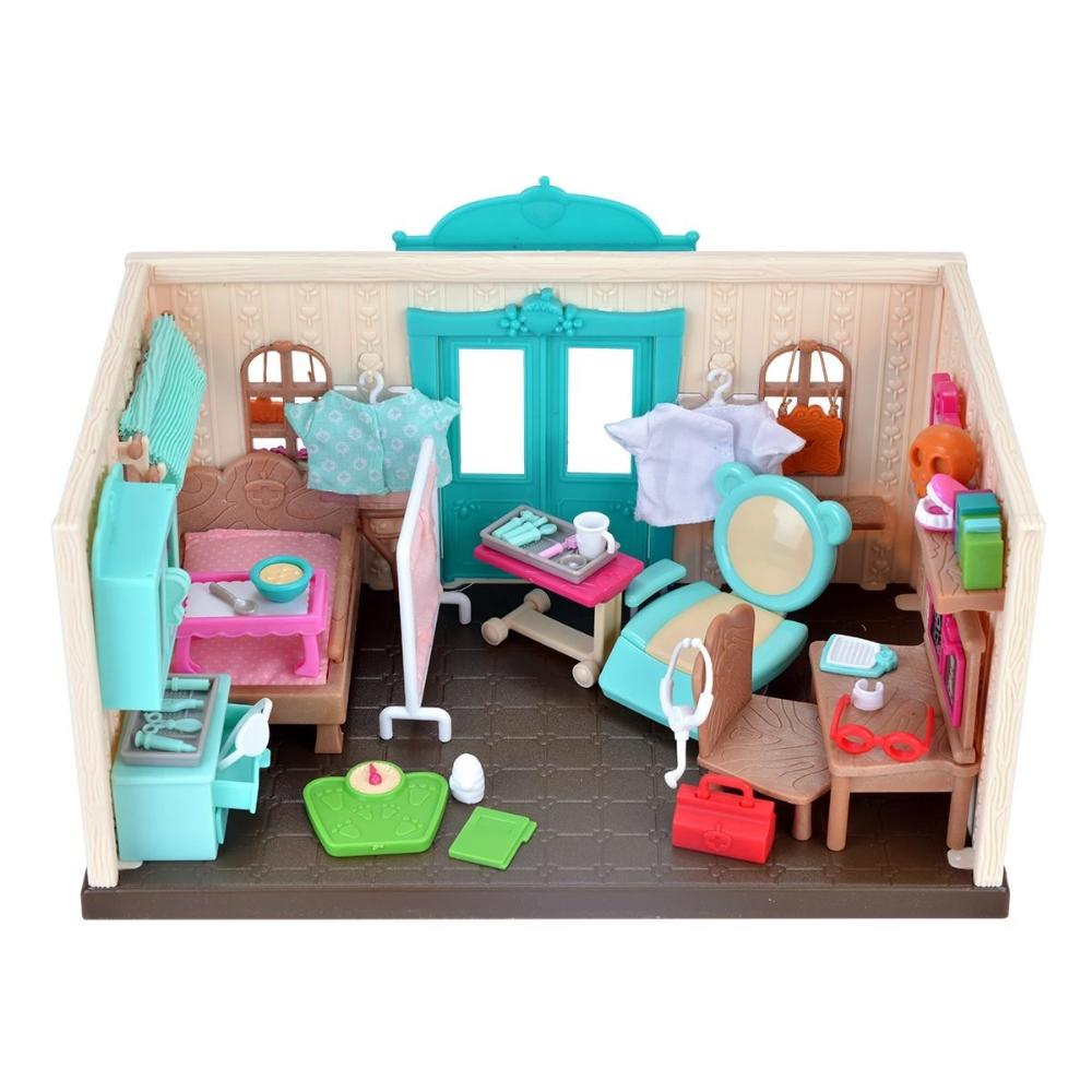 Li'L Woodzeez - Health Clinic Playset
