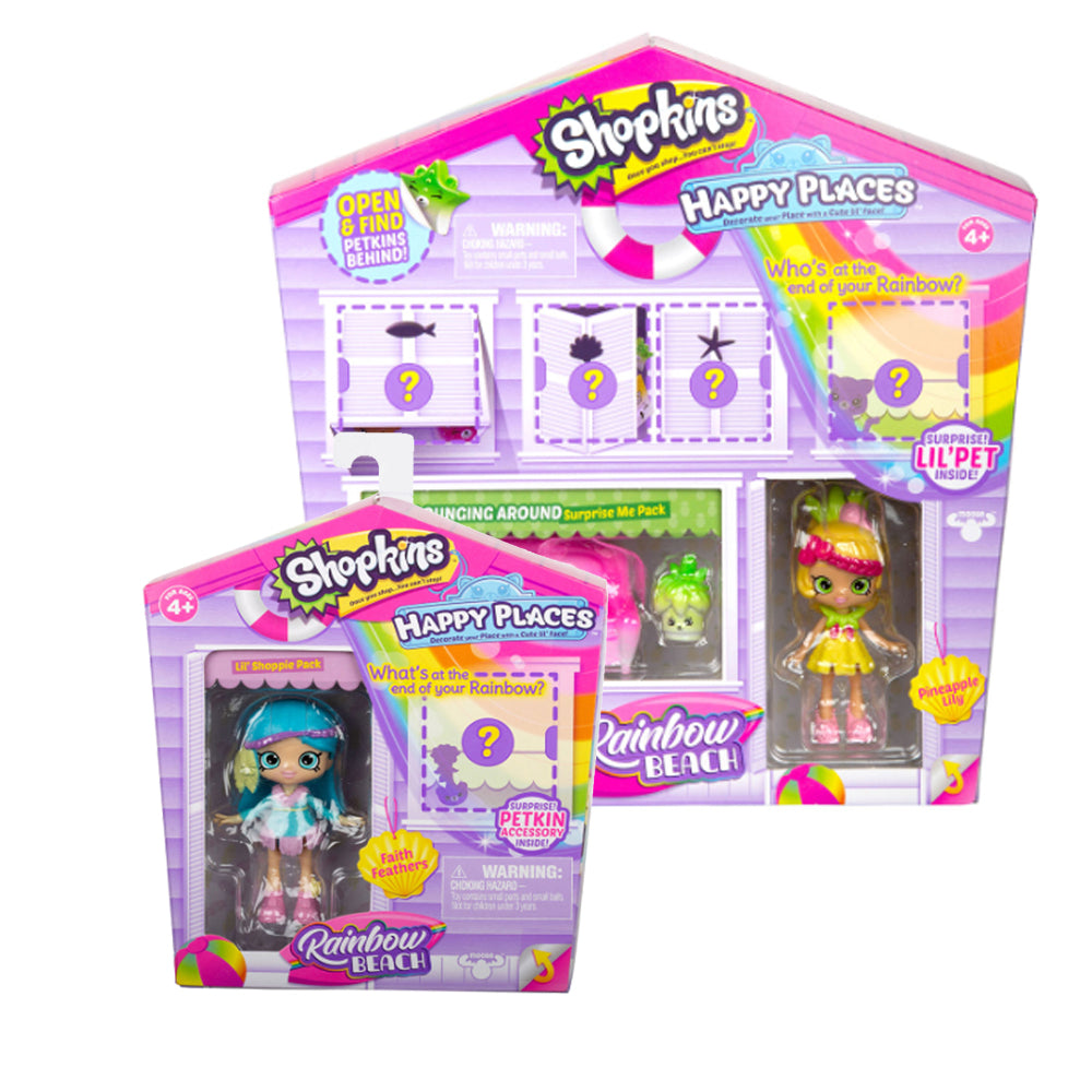 Shopkins Happy Places Combo Pack Faith Feathers