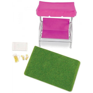Lori Dollhouse Garden Patio Set