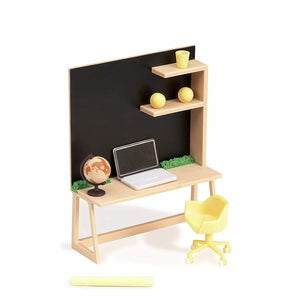 Lori Dollhouse Home Workspace Set