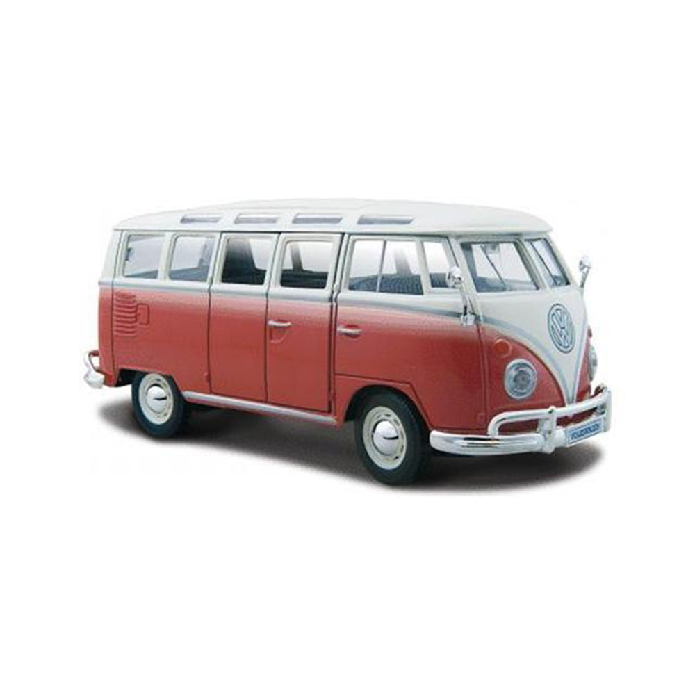 Maisto 1/25 VW Samba Van - Red