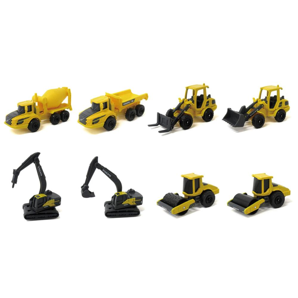Maisto 3inch Volvo Construction Vehicles (Comes as set)