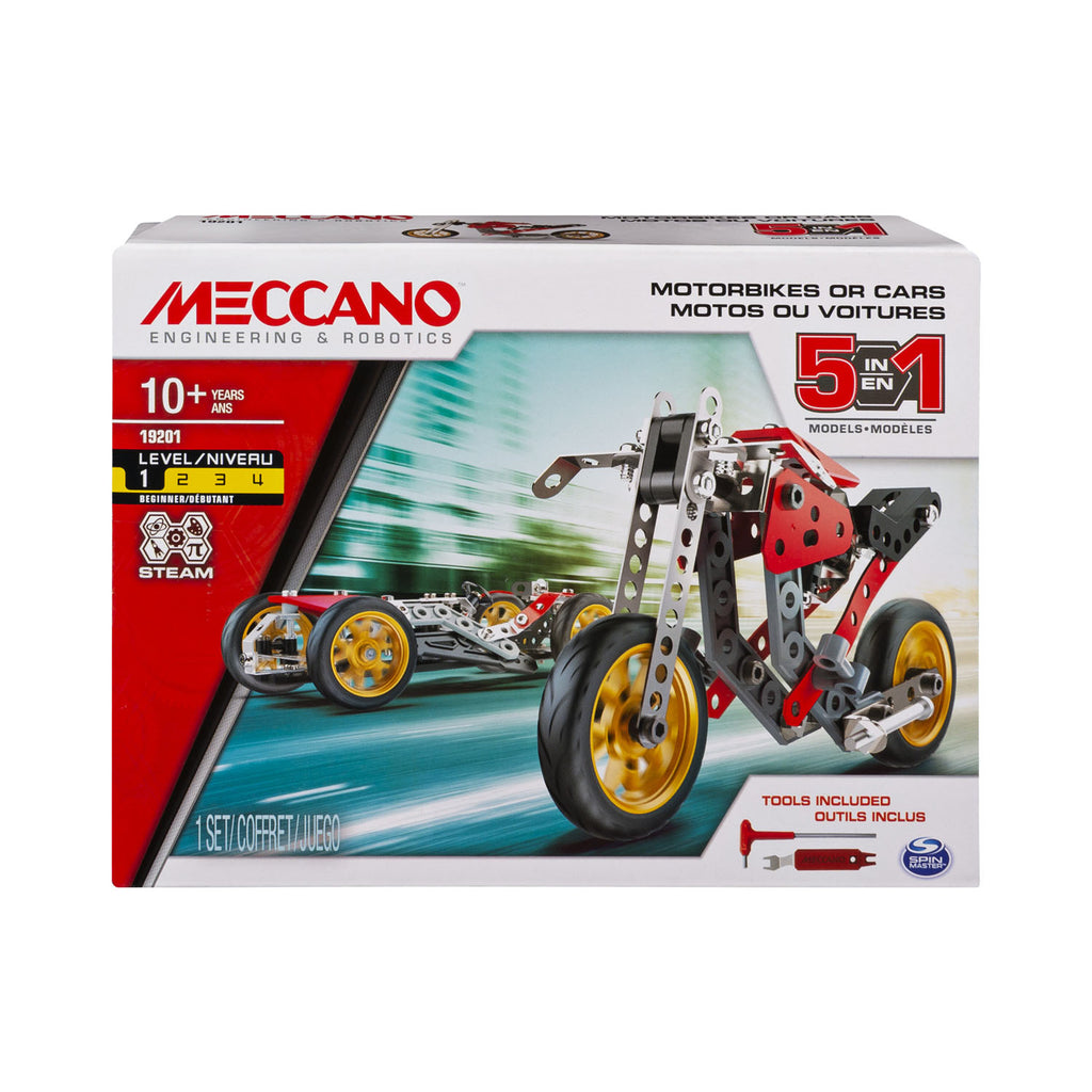 Meccano Multi 5 Model Street Fighter Bike