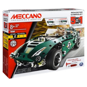 Meccano 5 Model Set Pullback Car