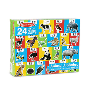 Melissa & Doug Animal Alphabet Floor Puzzle