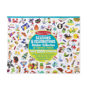 Melissa & Doug Sticker Collection Seasons and Celebrations