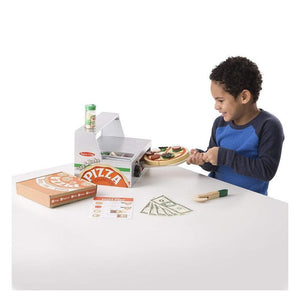 Melissa & Doug Top Bake Wooden Pizza Counter