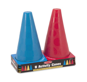 Melissa & Doug Activity Cones (8 in a pack)