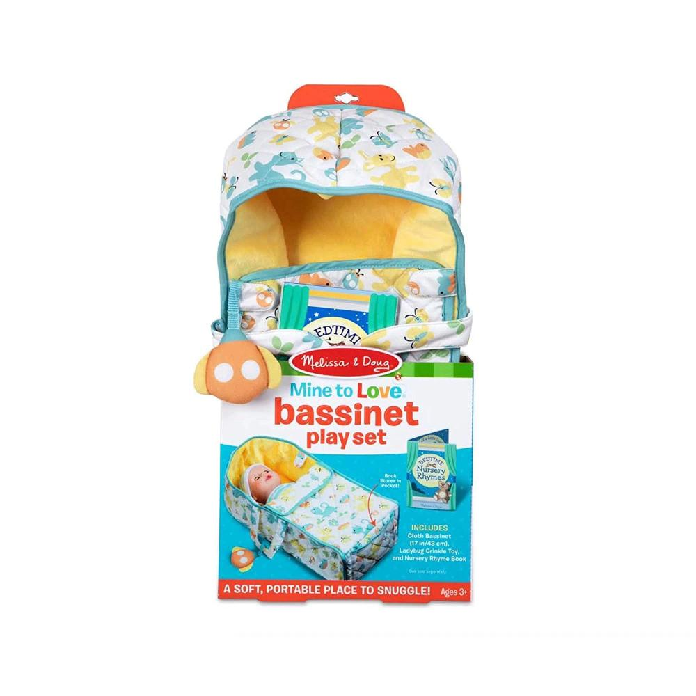 Melissa & Doug Bassinet Play Set