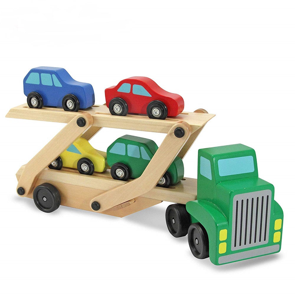 Melissa & Doug Car Carrier Truck