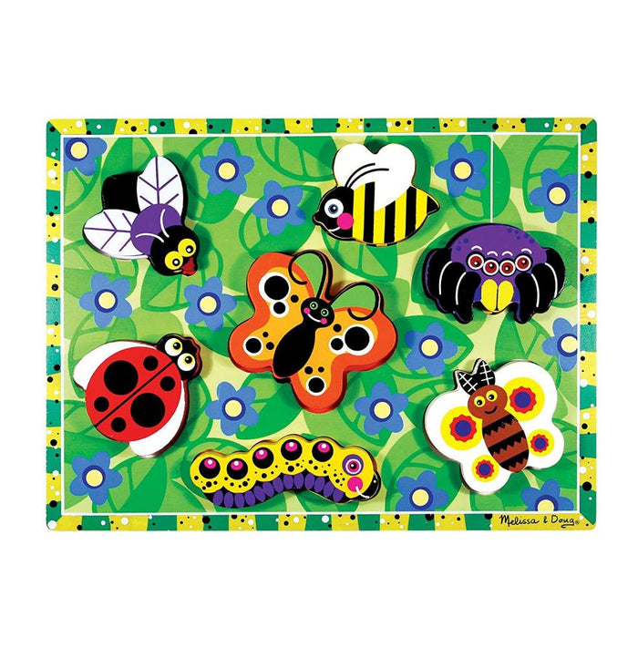 Melissa & Doug Chunky Puzzle - Insects