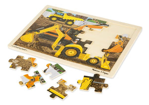 Melissa & Doug Construction Jigsaw 24pc