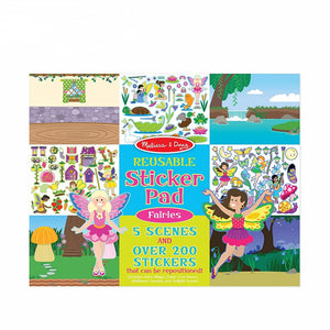 Melissa & Doug Fairies Reusable Sticker Pad