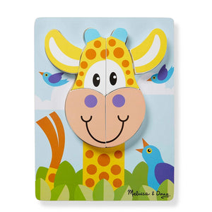 Melissa & Doug First Play Jigsaw Puzzle Set Safari